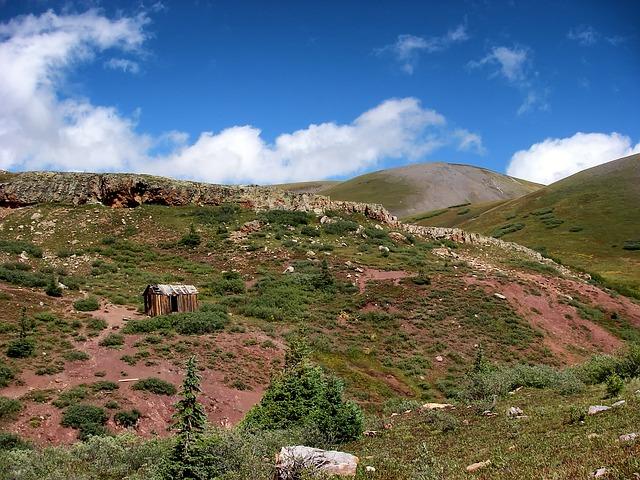 Free colorado landscape scenic sky clouds mountains