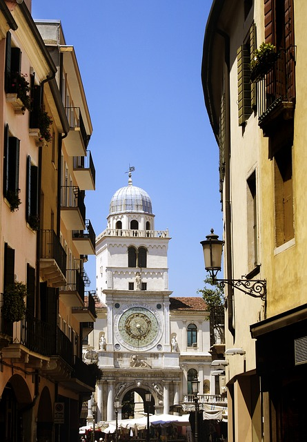 Free padova city italy downtown piazza architecture