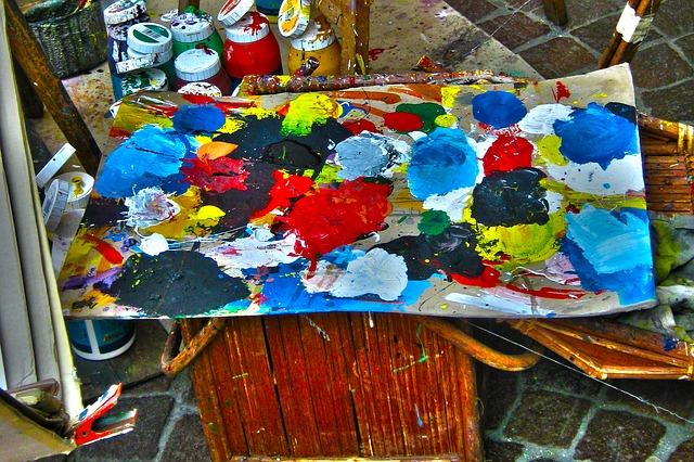 Free Photos: Color cans glasses range artists art painter   Gerd Altmann
