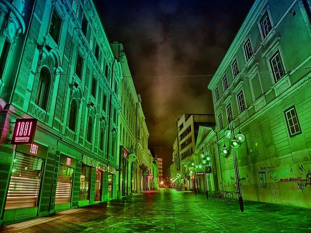 Free ljubljana slovenia buildings architecture hdr sky