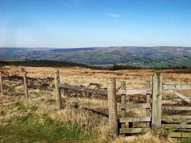 Free derbyshire england great britain moorland moors