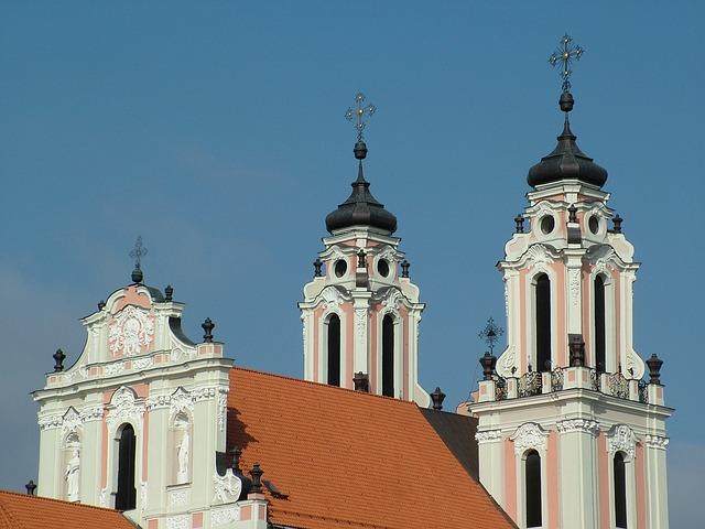 Free lithuania vilnius st catherine's church baroque