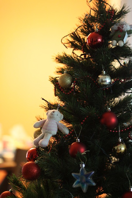 Free christmas tree bear