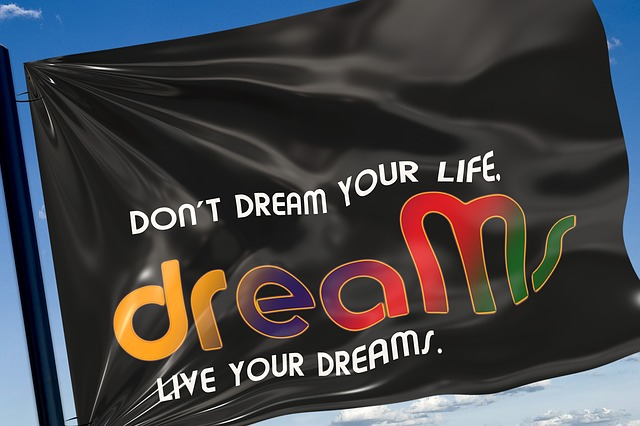 Free flag text letters live dream dreams wisdom