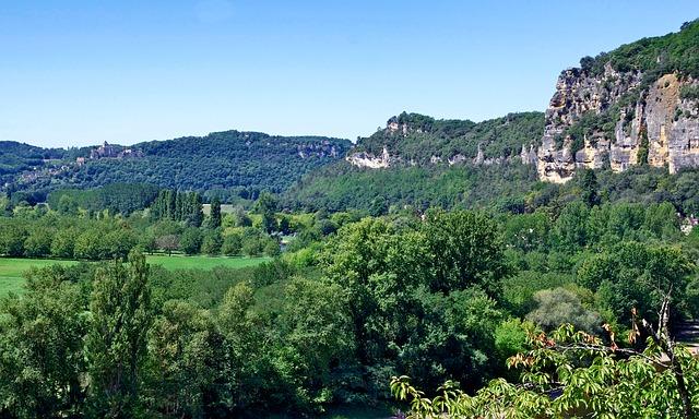Free dordogne france landscape scenic forest trees