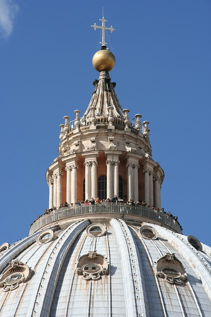 Free vatican st peter's basilica dome