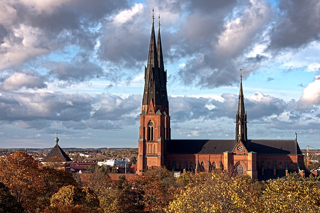 Free uppsala sweden scenic landscape buildings city