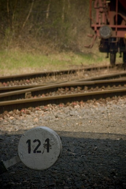 Free train old shut down gleise track seemed