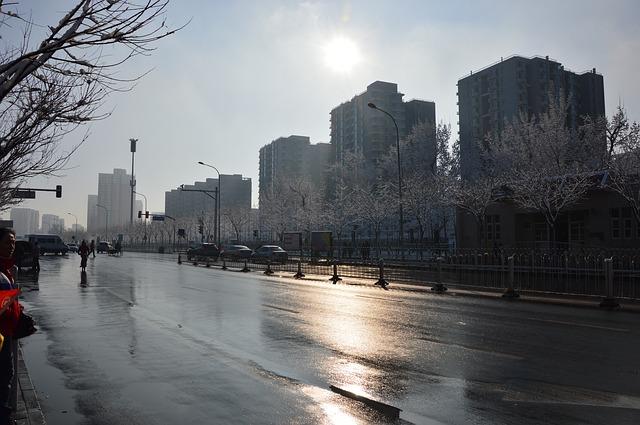 Free beijing spring morning snow