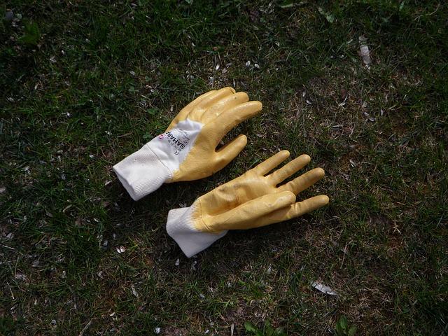 Free gloves gardening garden glove gardening gloves