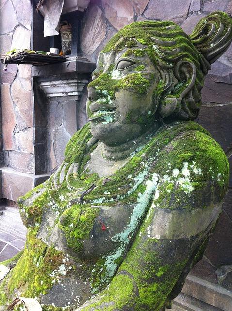Free bali statue stone ubud stone figure