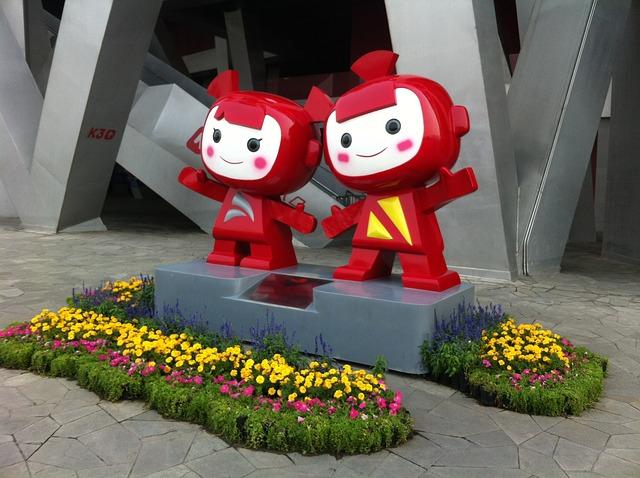 Free beijing olympic park mascot