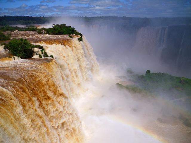 Free waterfall brazil iguazu cataratas de iguazu