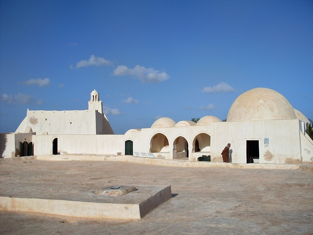 Free tunisia building structure architecture sky clouds