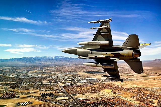 Free jet fighter sky clouds las vegas nevada landscape
