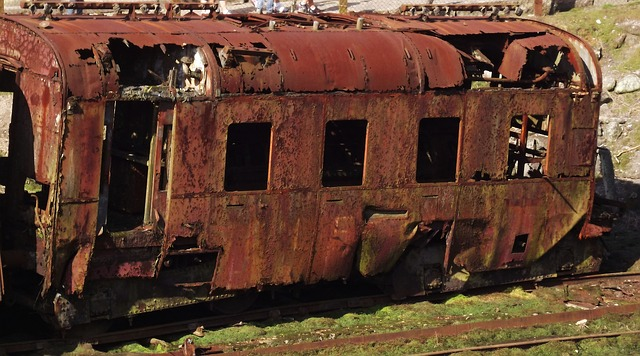 Free train railway old rusty decay railroad rails