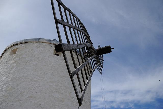 Free windmill sky architecture