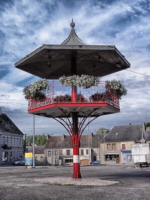 Free trelon france village town buildings architecture