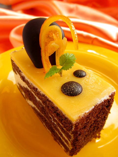 Free cake dessert fruit orange food suites