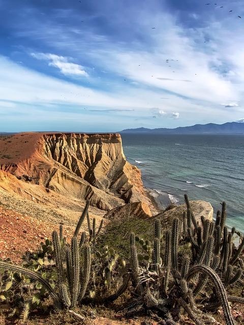 Free venezuela sea ocean water bay harbor mountain
