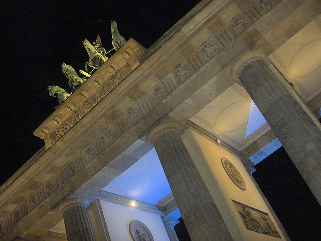 Free berlin brandenburg gate architecture monument