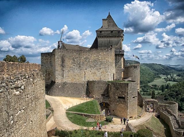 Free dordogne france chateau de castelnaud castle