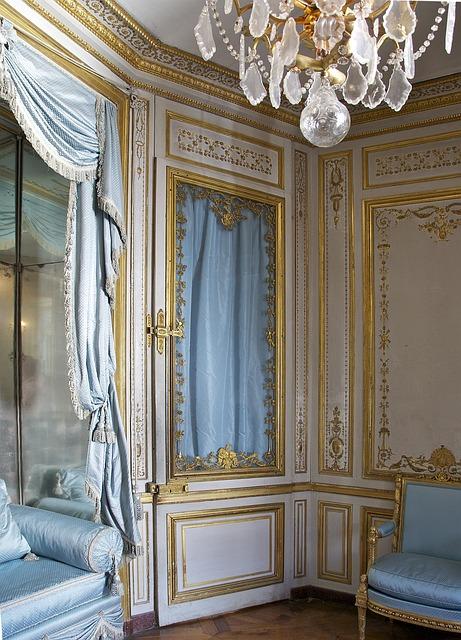 Free france chateau de versailles setting room inside
