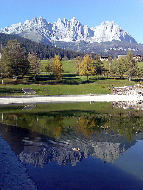 Free austria wilder emperor mountains bergsee water