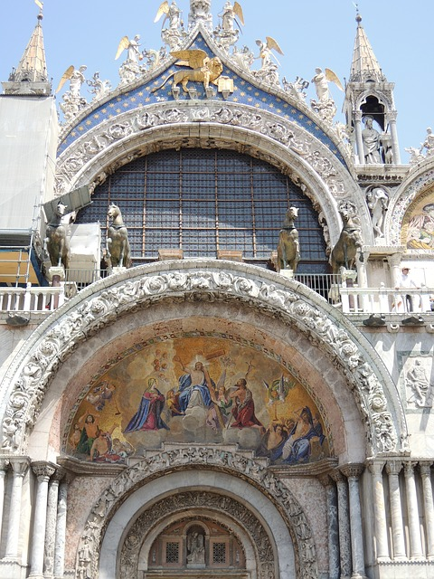 Free venice taly rialto church cathedral architecture