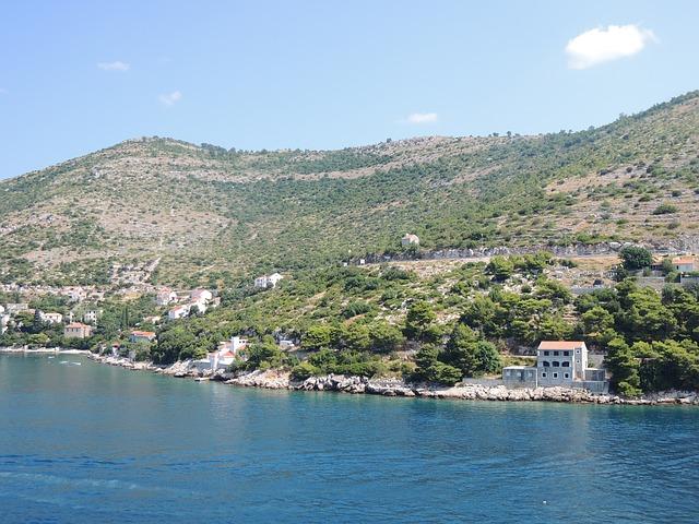 Free sea water blue boat cruise air silent croatia