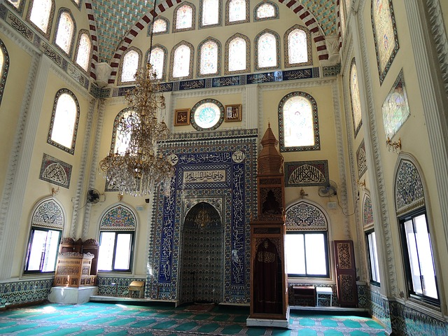 Free turkey izmir mosque blue mosque blue glass faith