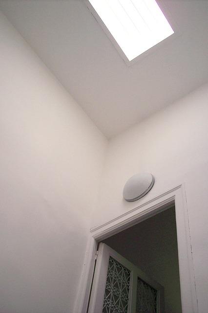 Free light skylight door ceiling entrance