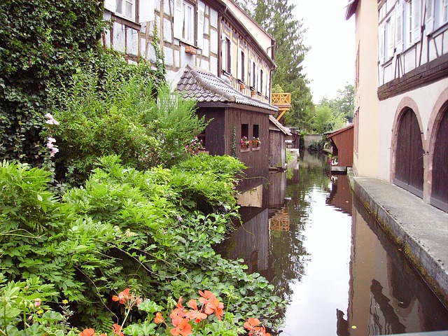 Free truss river alsace
