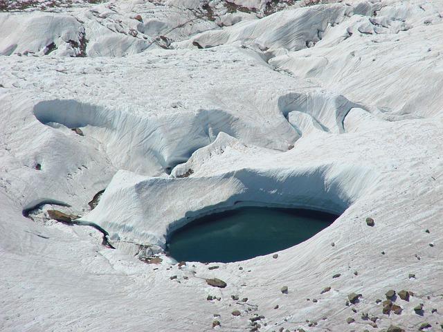 Free ice glacier switzerland zermatt matterhorn alpine