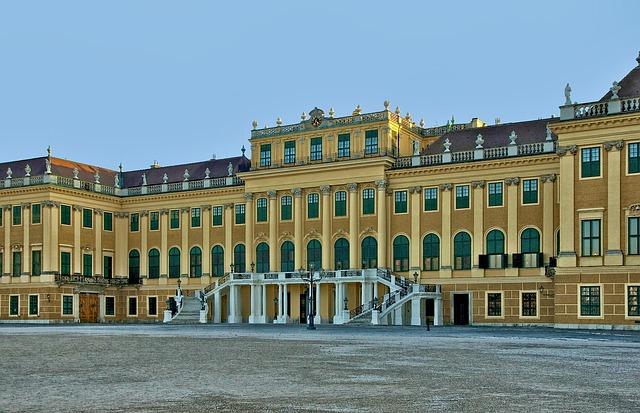 Free vienna austria schonbrunn castle palace building