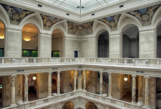 Free vienna austria hofburg palace inside interior