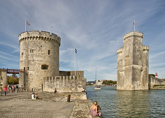 Free charente-maritime france monuments towers bay