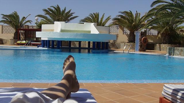Free fuerteventura canary islands summer pool