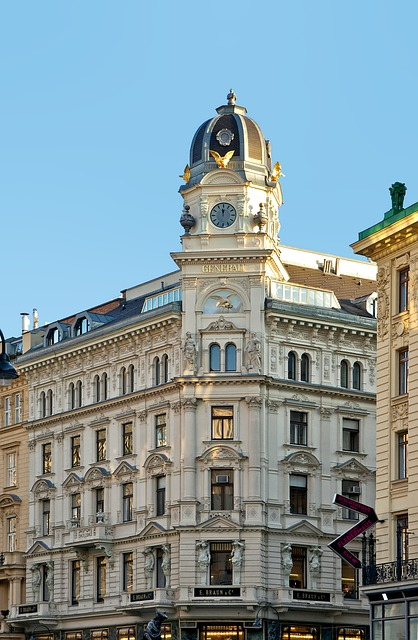 Free vienna austria city skyline buildings architecture