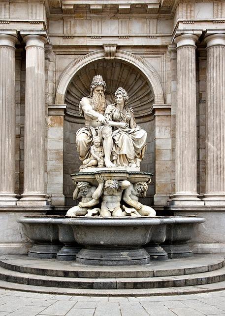Free vienna austria albrechsbrunnen fountain sculpture