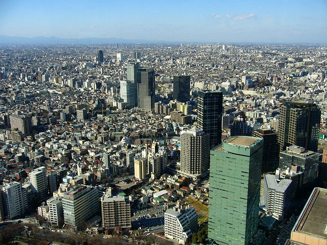 Free Photos: Tokyo japan city urban skyline cityscape | David Mark