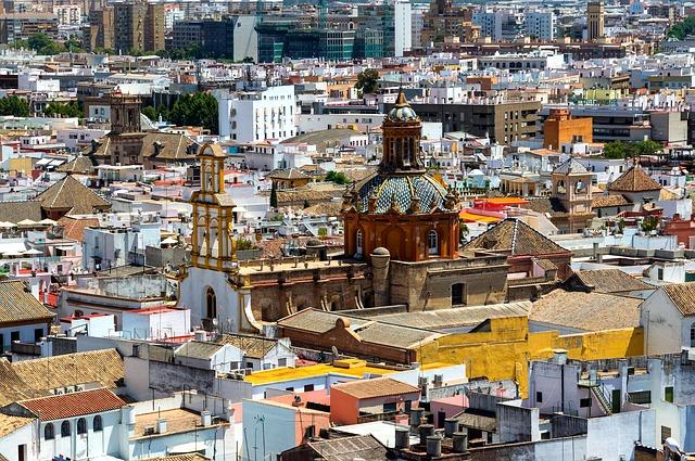 Free seville spain city cityscape buildings church