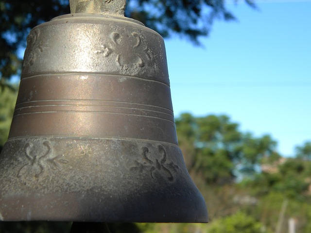 Free bell old iron