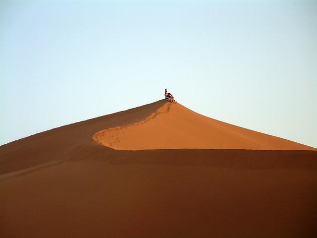 Free dune desert landscape sand africa morocco sahara