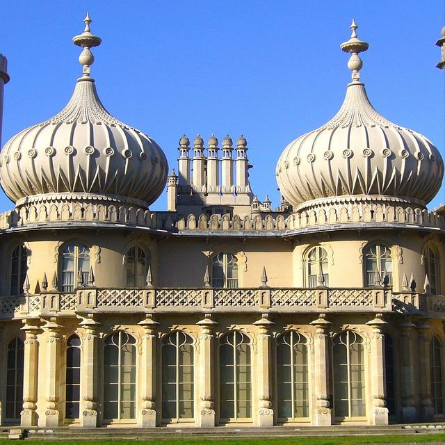 Free brighton royal pavilion palace architecture