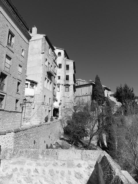 Free Photos: City black and white spain | galadrim
