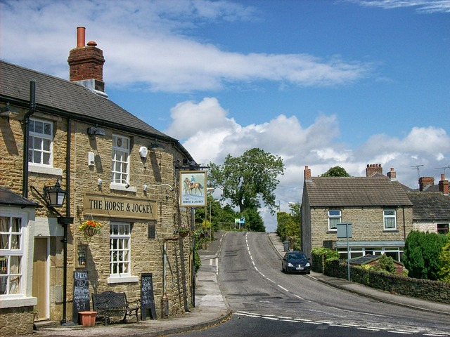 Free thurgoland england great britain village buildings