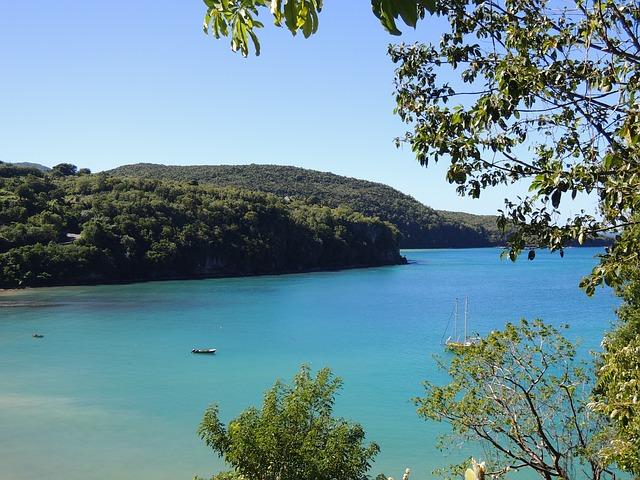 Free st lucia caribbean island saint lucia sea blue