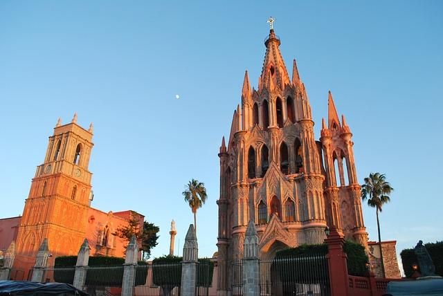 Free san miguel de allende mexico church churches