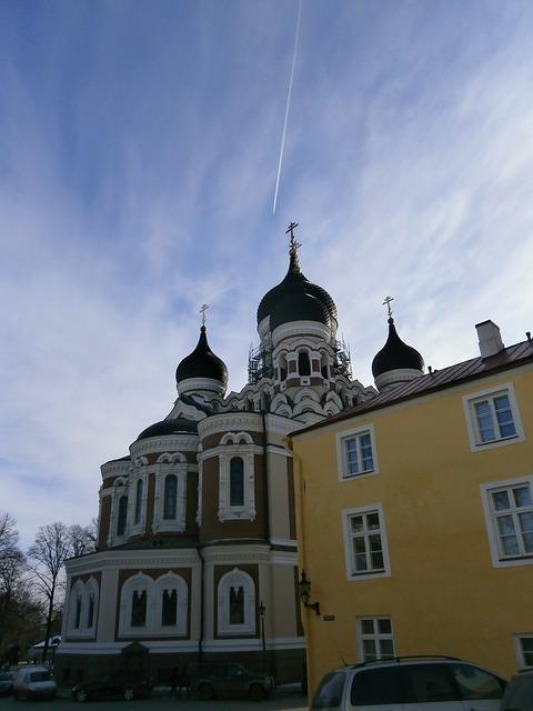 Free church churches nevsky cathedral tallinn estonia